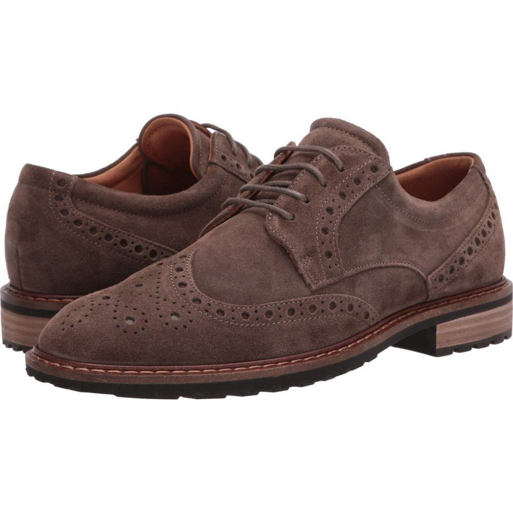 エコー ECCO メンズ 革靴・ビジネスシューズ ウイングチップ シューズ・靴【Vitrus I Wingtip Tie】Dark Clay