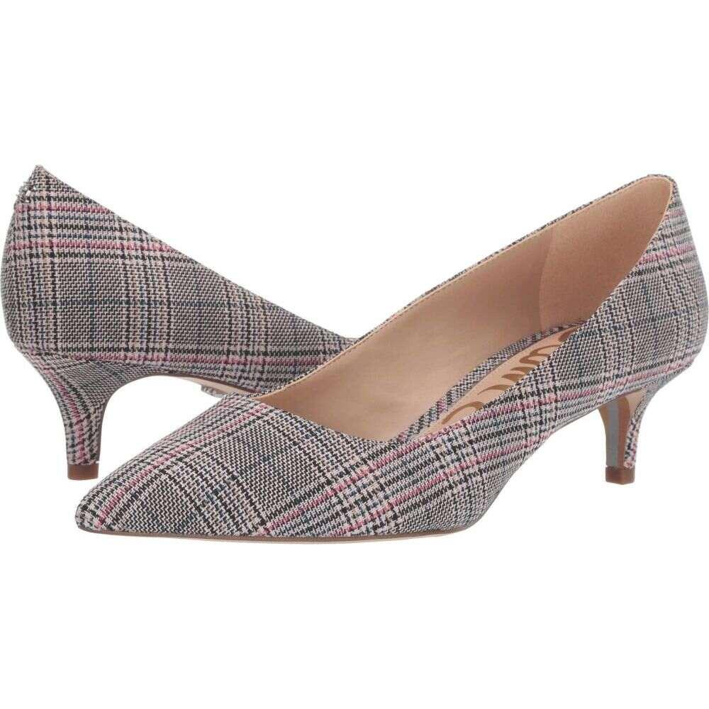 サム エデルマン Sam Edelman レディース パンプス シューズ・靴【Dori】Black/White/Pink Multi Plaid Bale Fabric