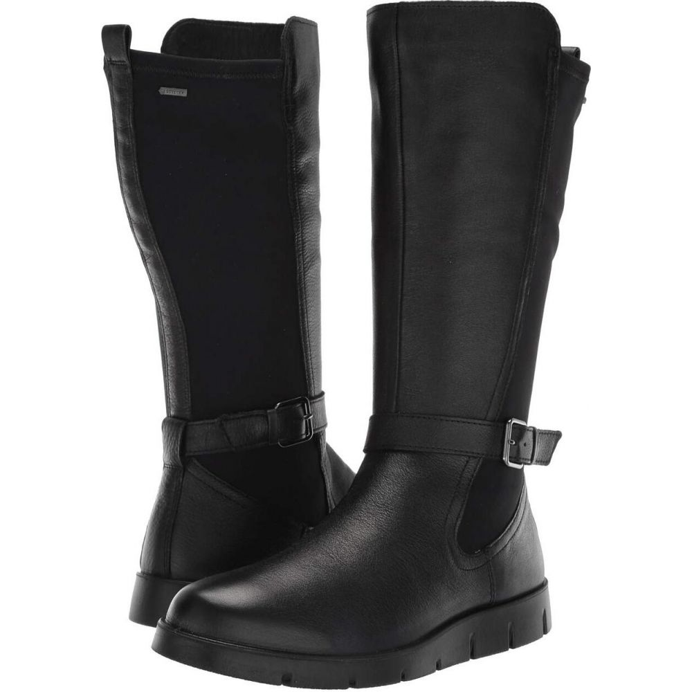 エコー ECCO レディース ブーツ シューズ・靴【Bella GORE-TEX Tall Boot】Black Cow Leather/Stretch