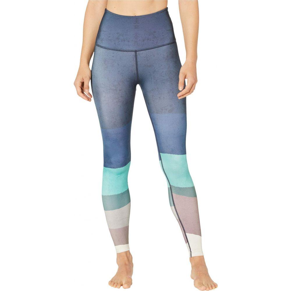 ビヨンドヨガ Beyond Yoga レディース スパッツ・レギンス インナー・下着【Lux High Waisted Midi Leggings】Scenic Ombre