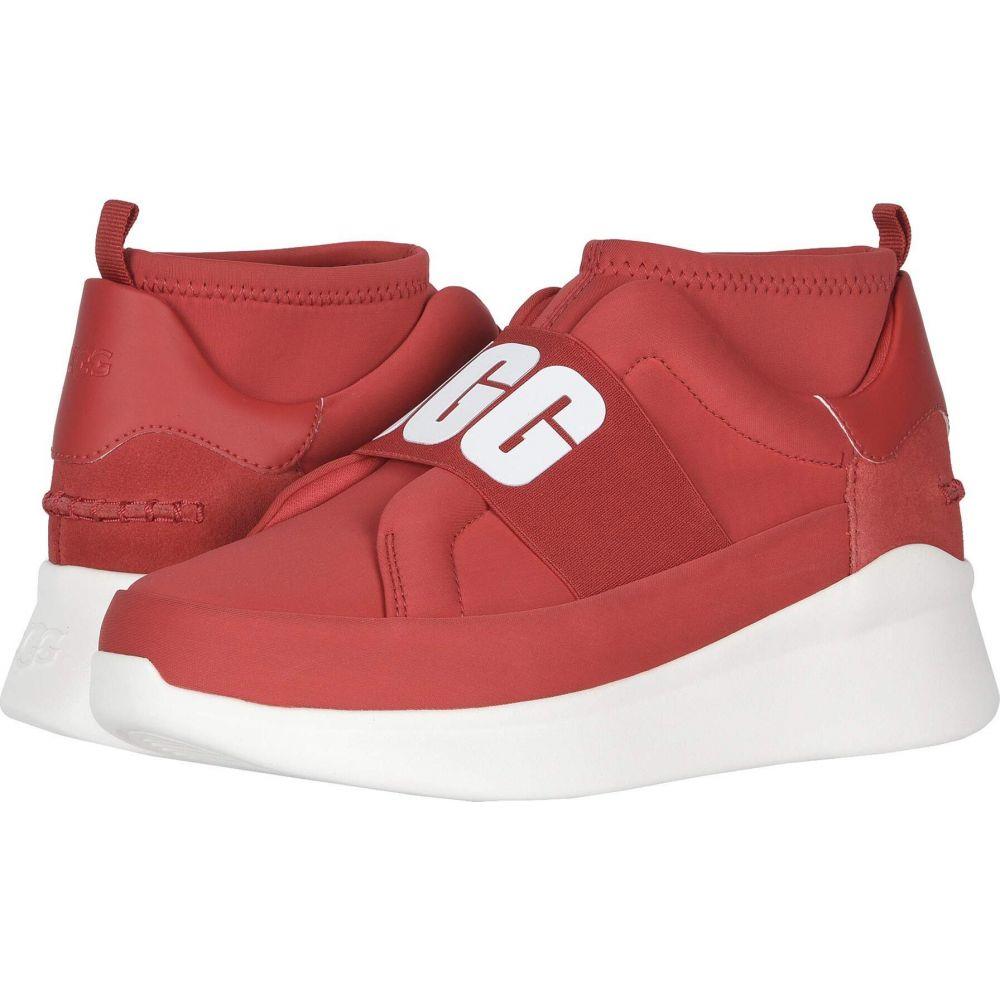 アグ UGG レディース スニーカー シューズ・靴【Neutra Sneaker】Ribbon Red