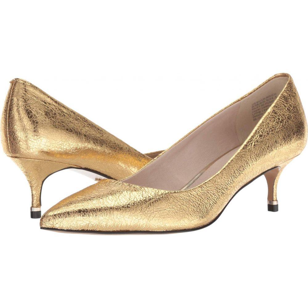 ケネス コール Kenneth Cole New York レディース パンプス シューズ・靴【Riley 50 Pump】Yellow Gold Metallic Leather