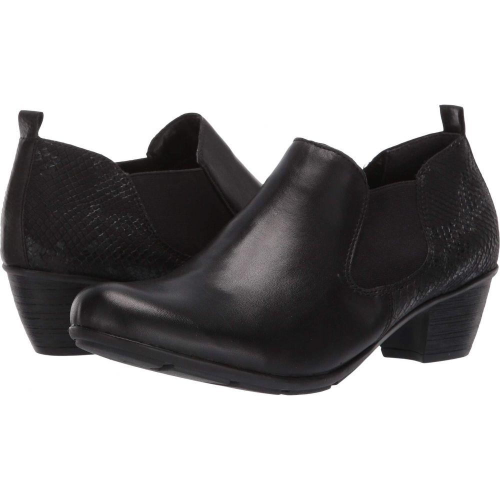 リエカー Rieker レディース ブーツ シューズ・靴【R7575 Queenie 75】Black/Black/Black