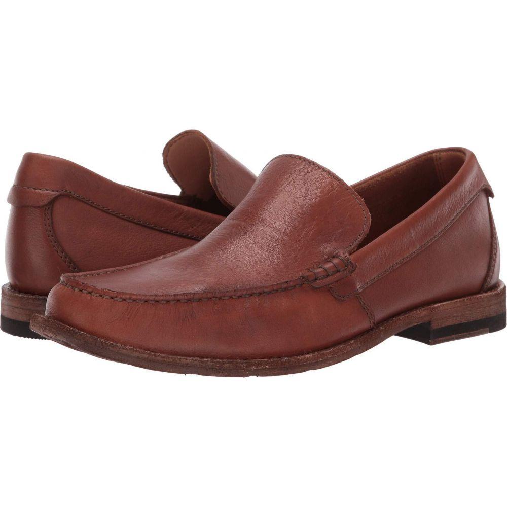 クラークス Clarks メンズ ローファー シューズ・靴【Pace Barnes】Dark Tan Leather