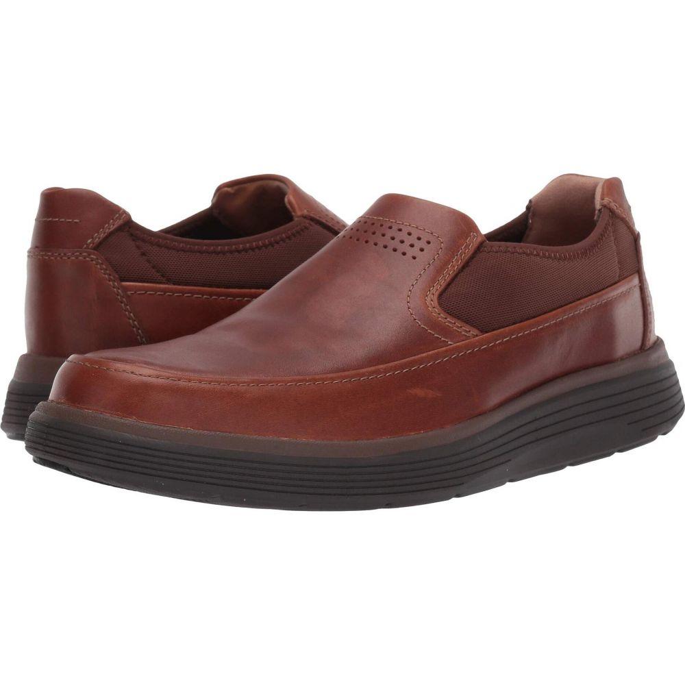 クラークス Clarks メンズ ローファー シューズ・靴【Un Abode Go】Dark Tan Leather