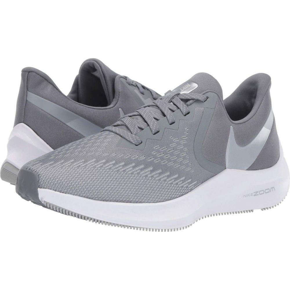 ナイキ Nike レディース ランニング・ウォーキング シューズ・靴【Zoom Winflo 6】Cool Grey/Metallic Platinum/Wolf Grey/White
