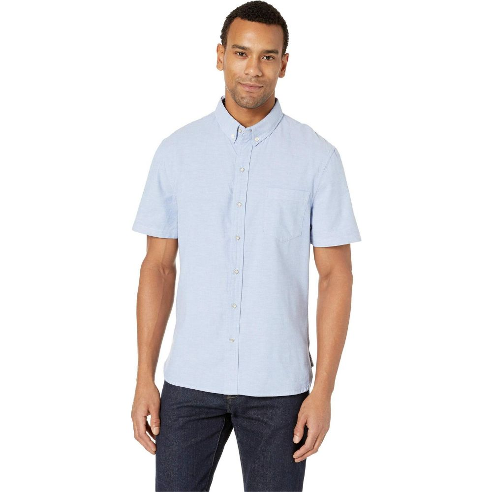 レインスプーナー Reyn Spooner メンズ シャツ トップス【Solid Stretch Oxford Shirt】Blue