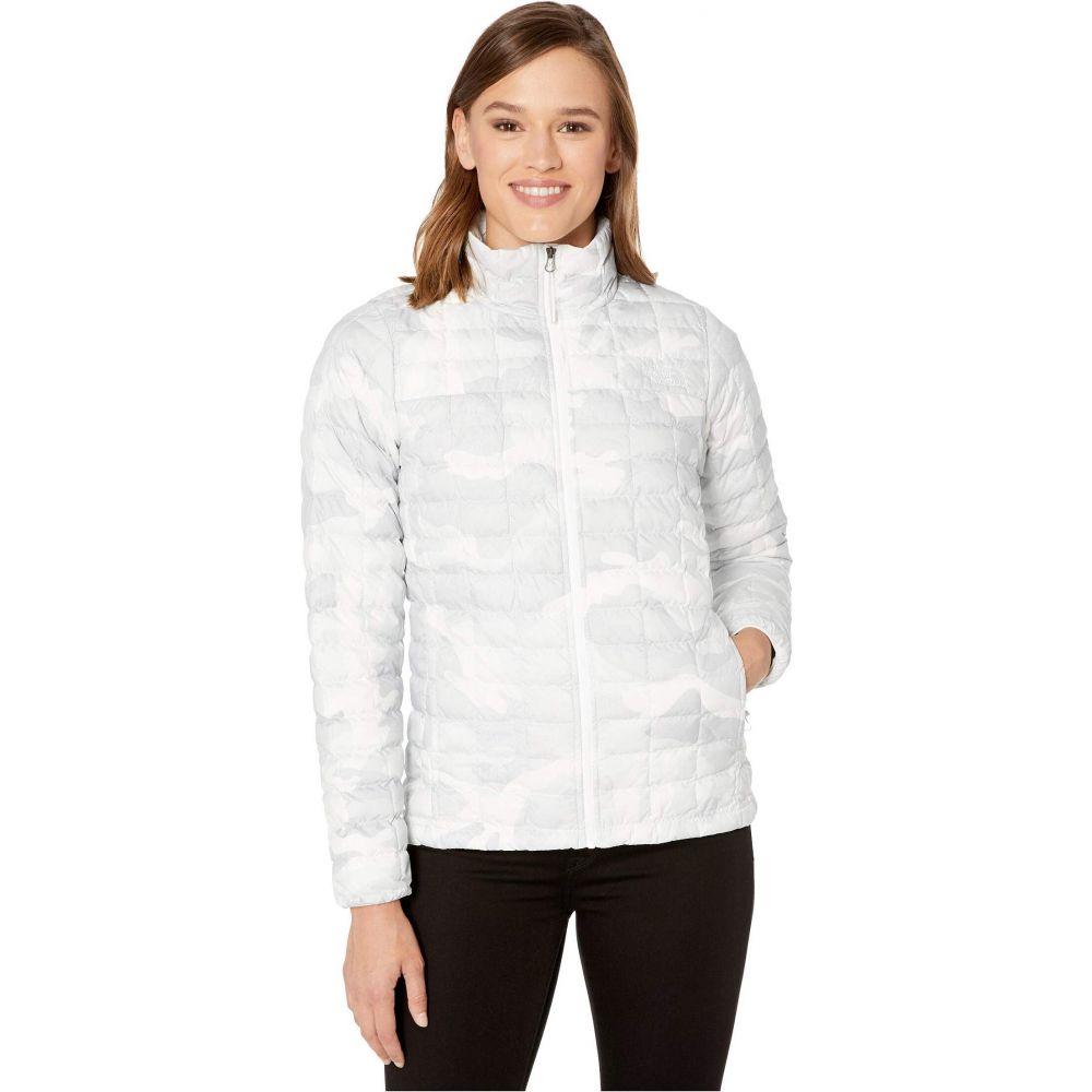ザ ノースフェイス The North Face レディース ジャケット アウター【ThermoBall Eco Jacket】TNF White Waxed Camo Print