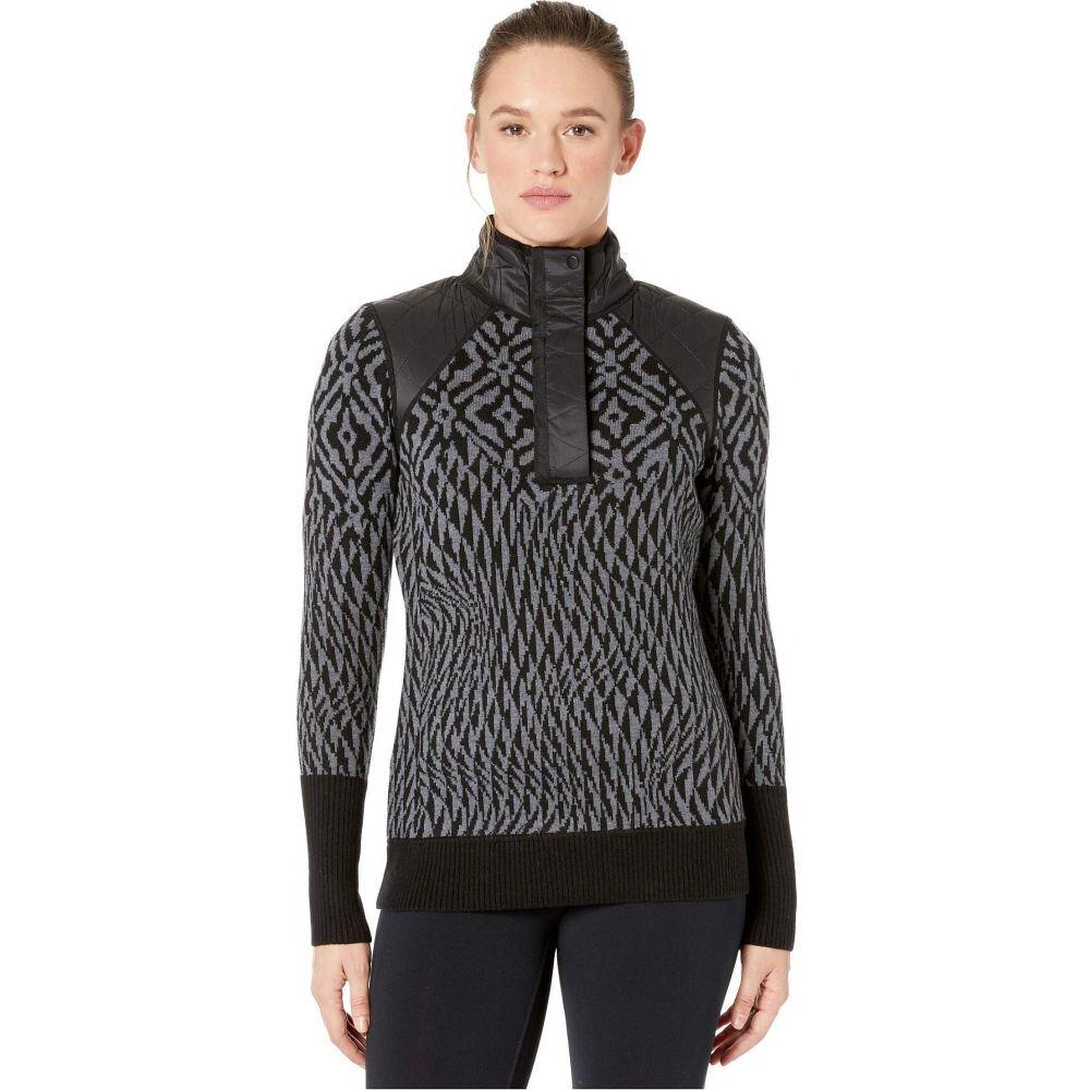 Ninja レディース スマートウール ニット・セーター Sweater】Black Smartwool トップス【Ski Pullover
