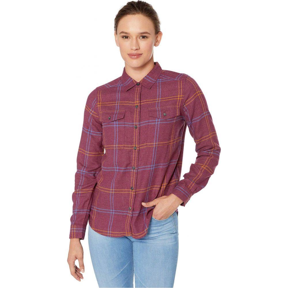 トードアンドコー Toad&Co レディース ブラウス・シャツ フランネルシャツ トップス【Re-Form Flannel Shirt】Port
