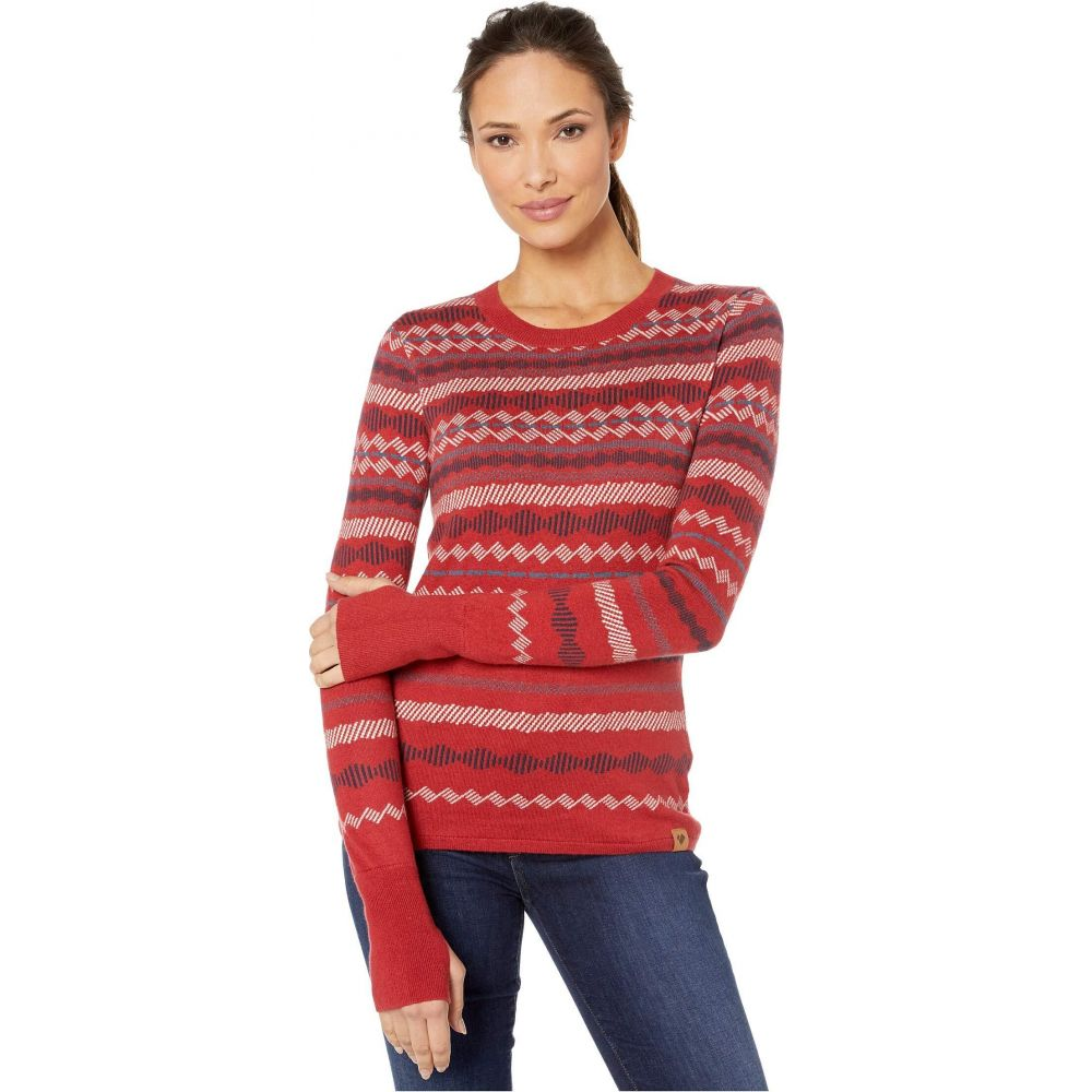 オバマイヤー Obermeyer レディース ニット・セーター トップス【Reece Ski Sweater】Dragon Red