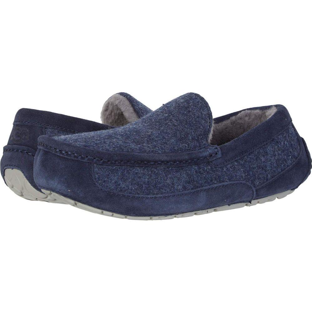 アグ UGG メンズ スリッパ シューズ・靴【Ascot Wool】Dark Sapphire