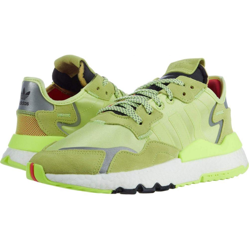 アディダス adidas Originals レディース スニーカー シューズ・靴【WM Nite Jogger】Semi Frozen Yellow/Semi Frozen Yellow/Hi-Res Yellow