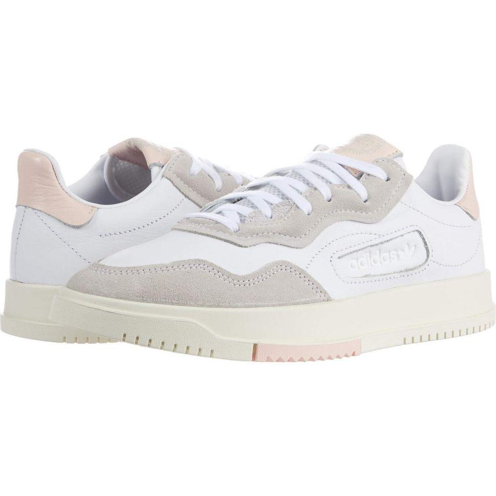 アディダス adidas Originals レディース スニーカー シューズ・靴【WM SC Premiere】Footwear White/Footwear White/Icey Pink F