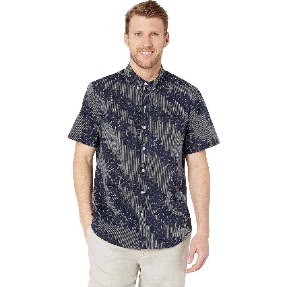 レインスプーナー Reyn Spooner メンズ シャツ アロハシャツ トップス【April Downpour Tailored Hawaiian Shirt】Peacoat