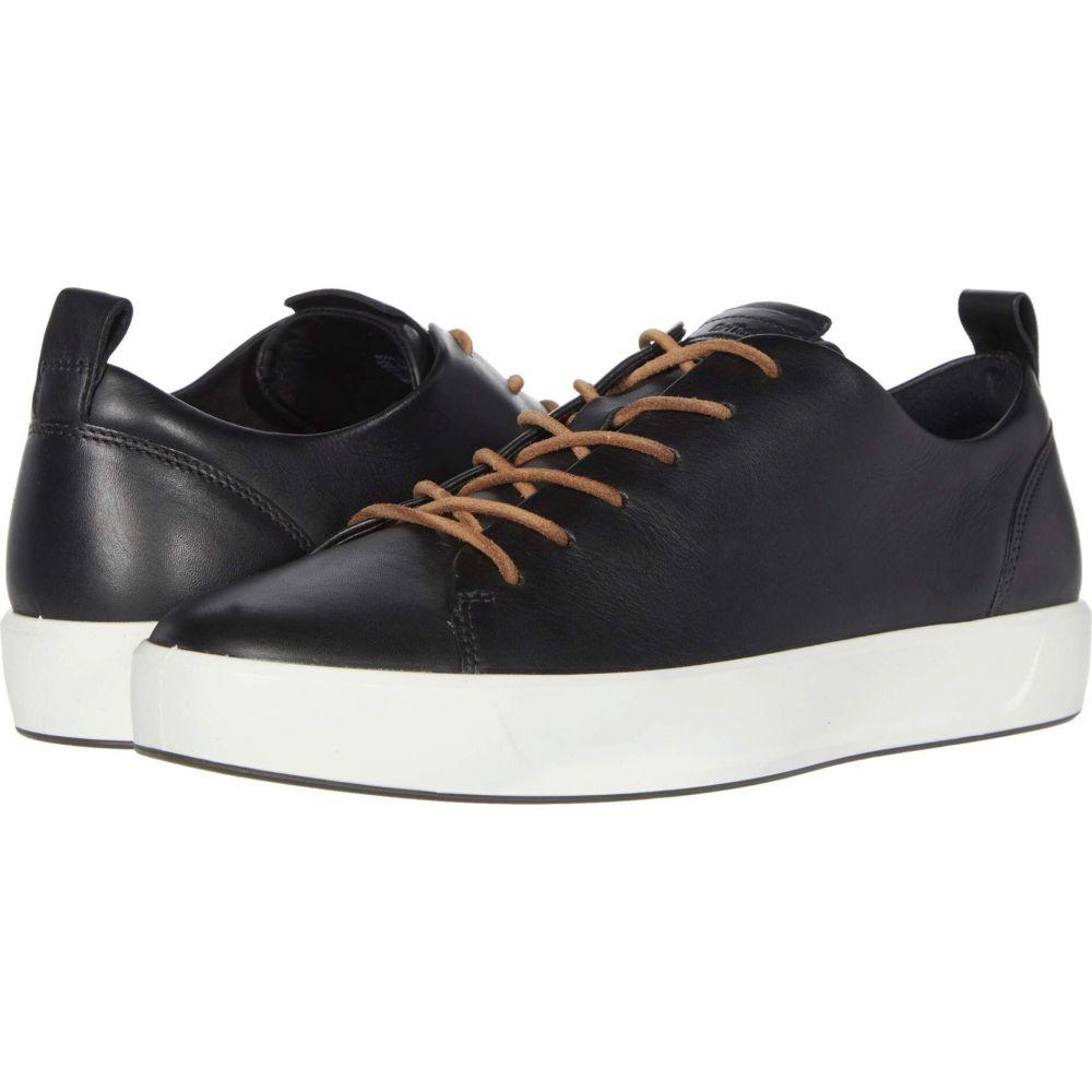 エコー ECCO メンズ スニーカー シューズ・靴【Soft 8 Dritan Luxe】Black