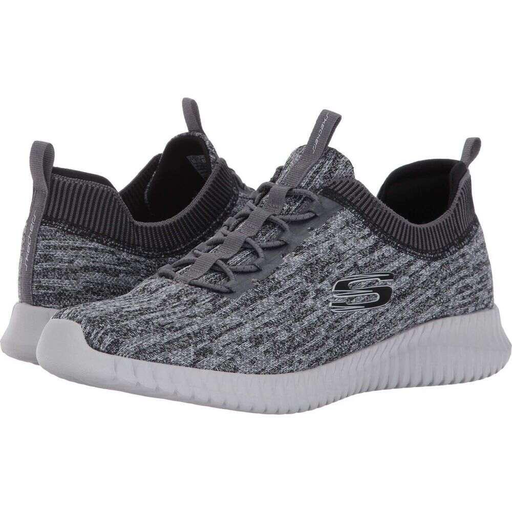 スケッチャーズ SKECHERS メンズ スニーカー シューズ・靴【Elite Flex Hartnell】Gray/Black