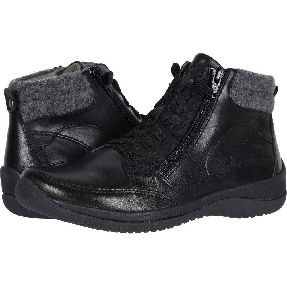 カルソーアースシューズ Earth レディース ブーツ シューズ・靴【Kara Savant】Black Multi Soft Calf/Felt