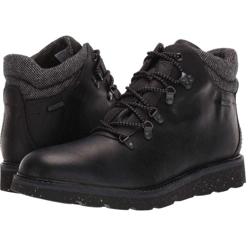 ロックポート Rockport メンズ ブーツ シューズ・靴【Storm Front Waterproof Alpine Boot】Black Leather