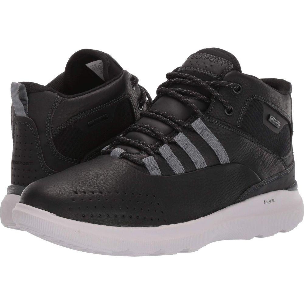 ロックポート Rockport メンズ ブーツ シューズ・靴【TruFlex Hybrid Waterproof Boot】Black Leather