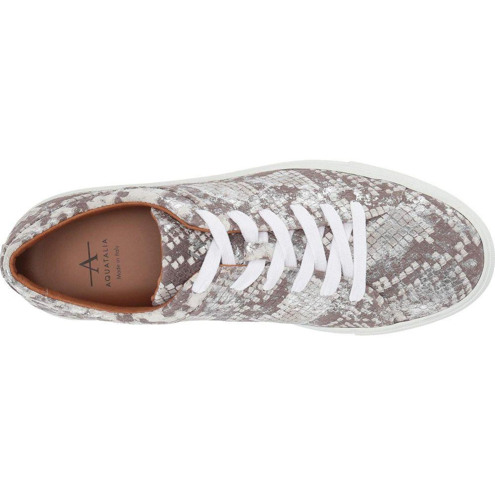 アクアタリア Aquatalia レディース スニーカー シューズ・靴 Avery Silver Metallic Snake PrintNk0X8OZnwP