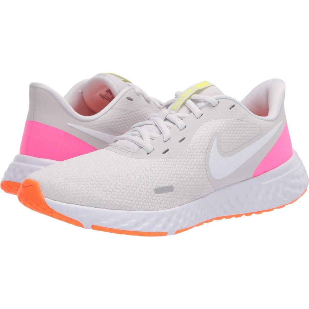 ナイキ Nike レディース ランニング・ウォーキング シューズ・靴【Revolution 5】Platinum Tint/White/Pink Blast