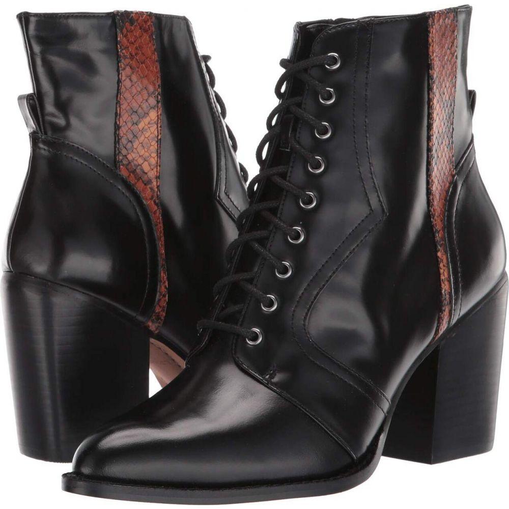 リネアパウロ LINEA Paolo レディース ブーツ シューズ・靴【Suri】Black/Brown/Black