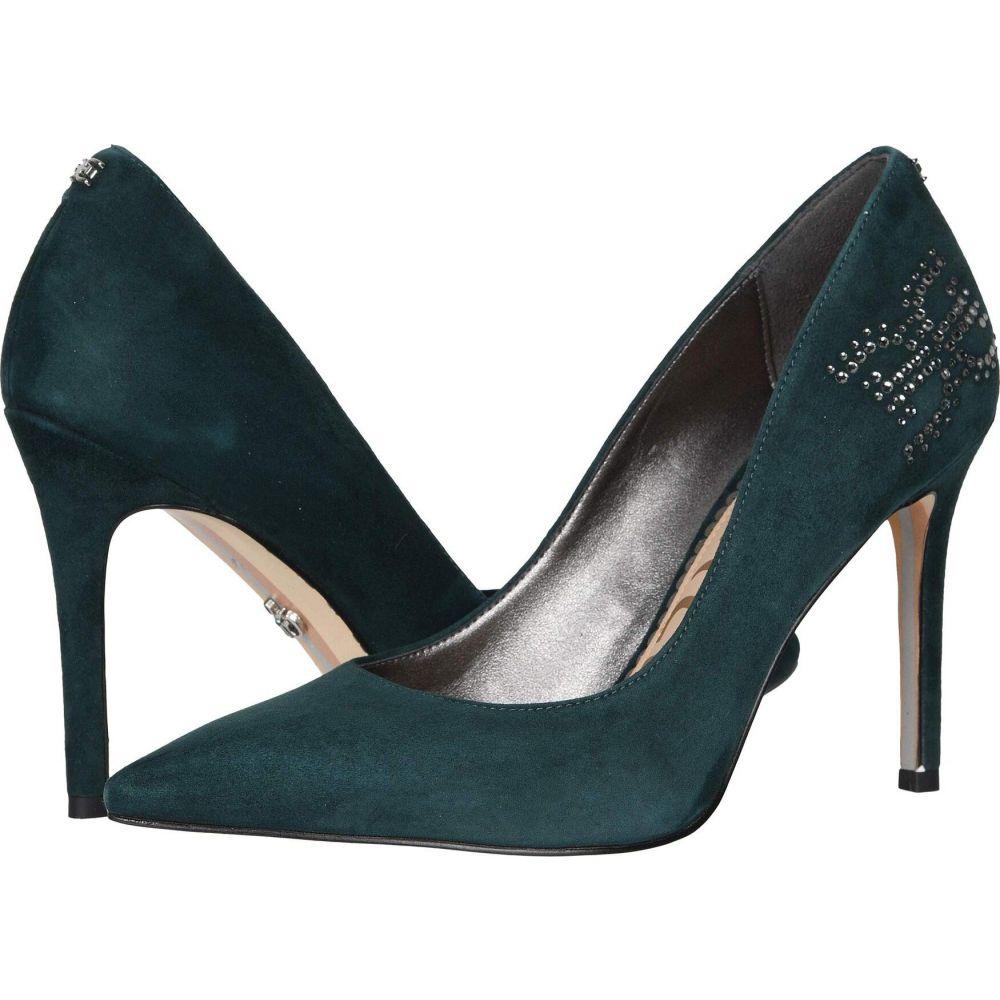 サム エデルマン Sam Edelman レディース パンプス シューズ・靴【Hazel】Jasmine Green Suede Leather
