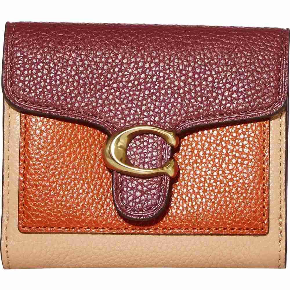 コーチ COACH レディース 財布 【Color Block Tabby Small Wallet】Vintage Mauve Multi/Brass
