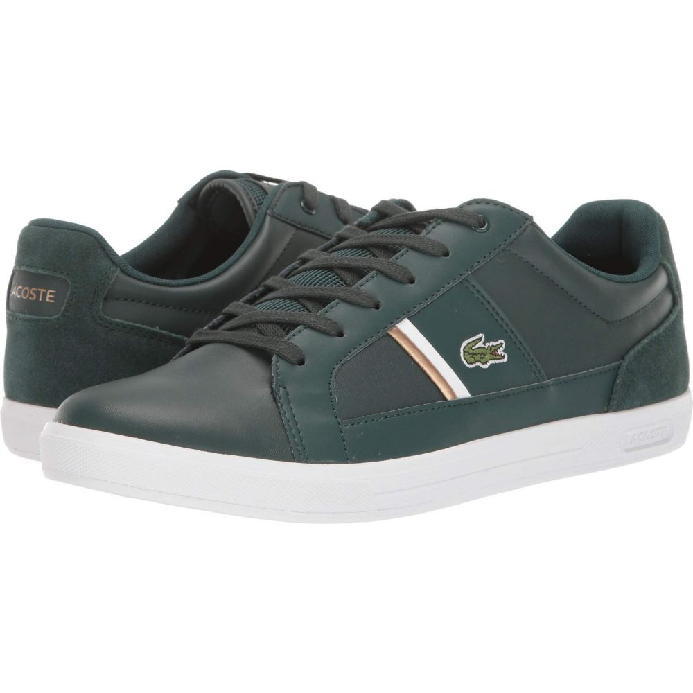ラコステ Lacoste メンズ スニーカー シューズ・靴【Europa 319 1】Dark Green/White