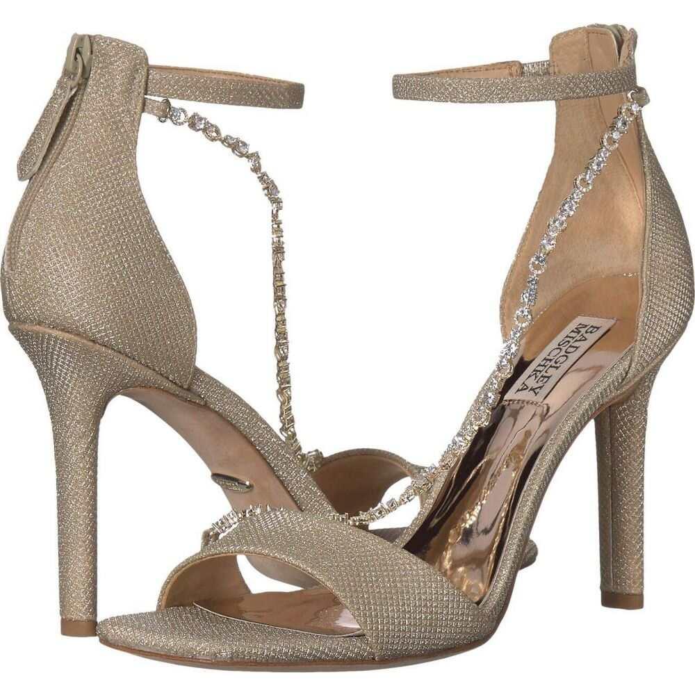 バッジェリー ミシュカ Badgley Mischka レディース サンダル・ミュール シューズ・靴【Erika】Platino Diamond Textile