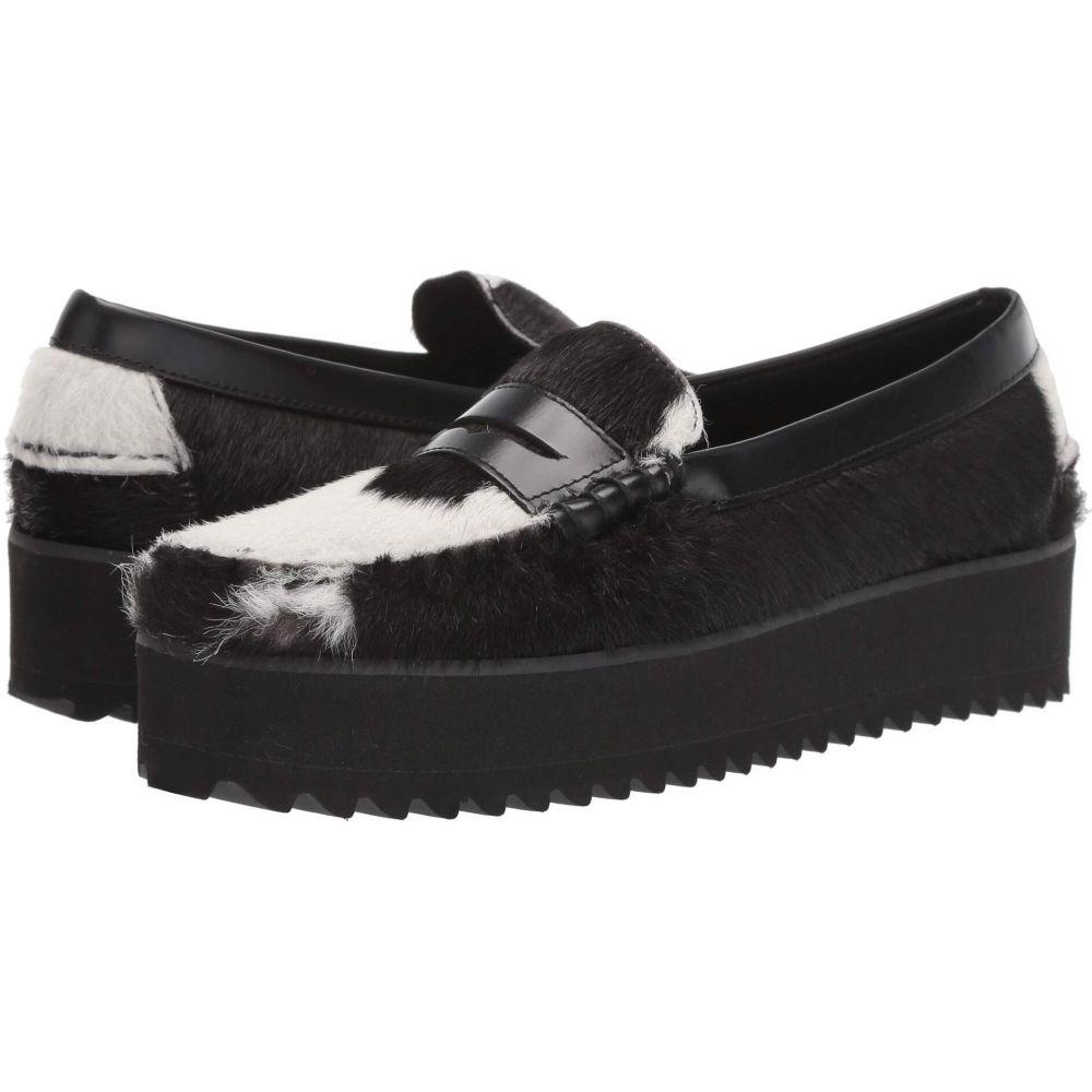セバゴ Sebago レディース ローファー・オックスフォード ウェッジソール シューズ・靴【Dan Wedge】Black/White