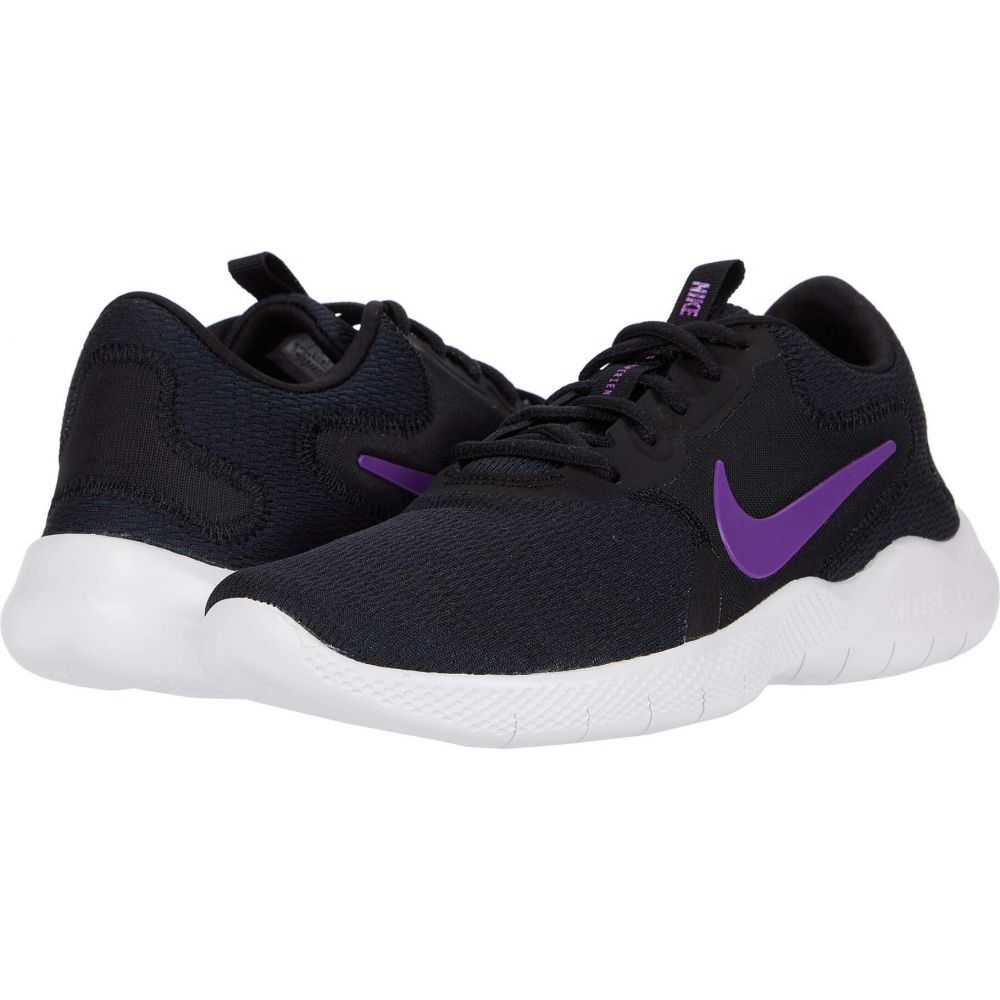 ナイキ Nike レディース ランニング・ウォーキング シューズ・靴【Flex Experience Run 9】Black/Vivid Purple/Valerian Blue