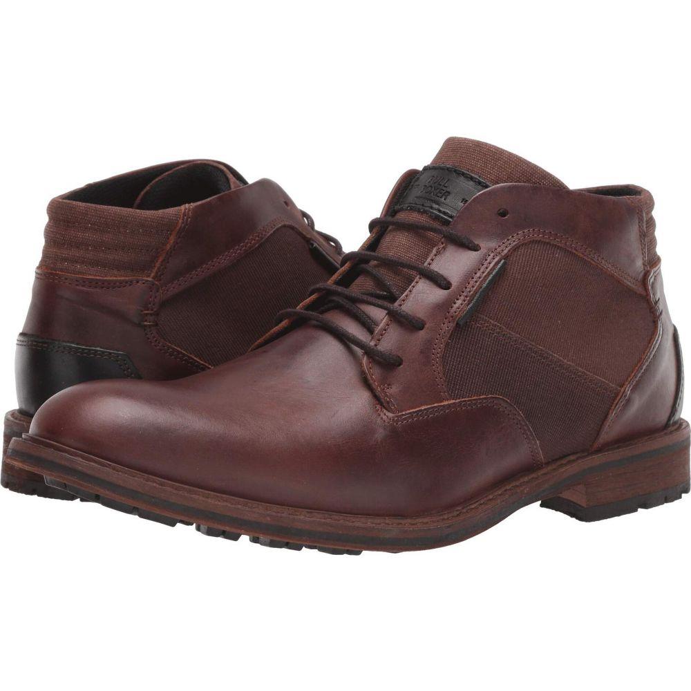 ブルボクサー Bullboxer メンズ ブーツ シューズ・靴【Kapture】Red/Brown