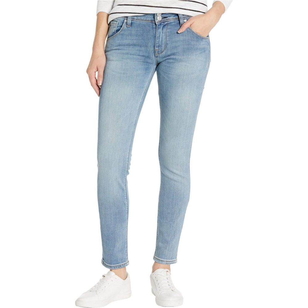 ハドソンジーンズ Hudson Jeans レディース ジーンズ・デニム ボトムス・パンツ【Collin Classic Pocket Mid-Rise Skinny in Word Play】Word Play