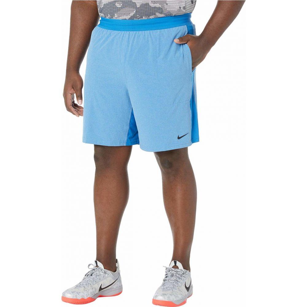 ナイキ Nike メンズ ショートパンツ 大きいサイズ ボトムス・パンツ【Big & Tall Flex Shorts Active】Battle Blue/Psychic Blue/Black