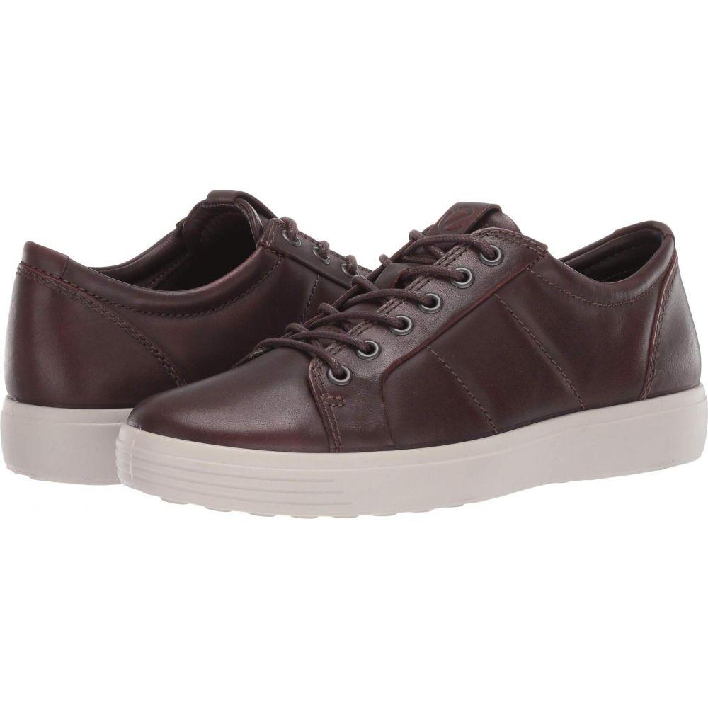 エコー ECCO メンズ スニーカー シューズ・靴【Soft 7 Premium Sneaker】Cognac