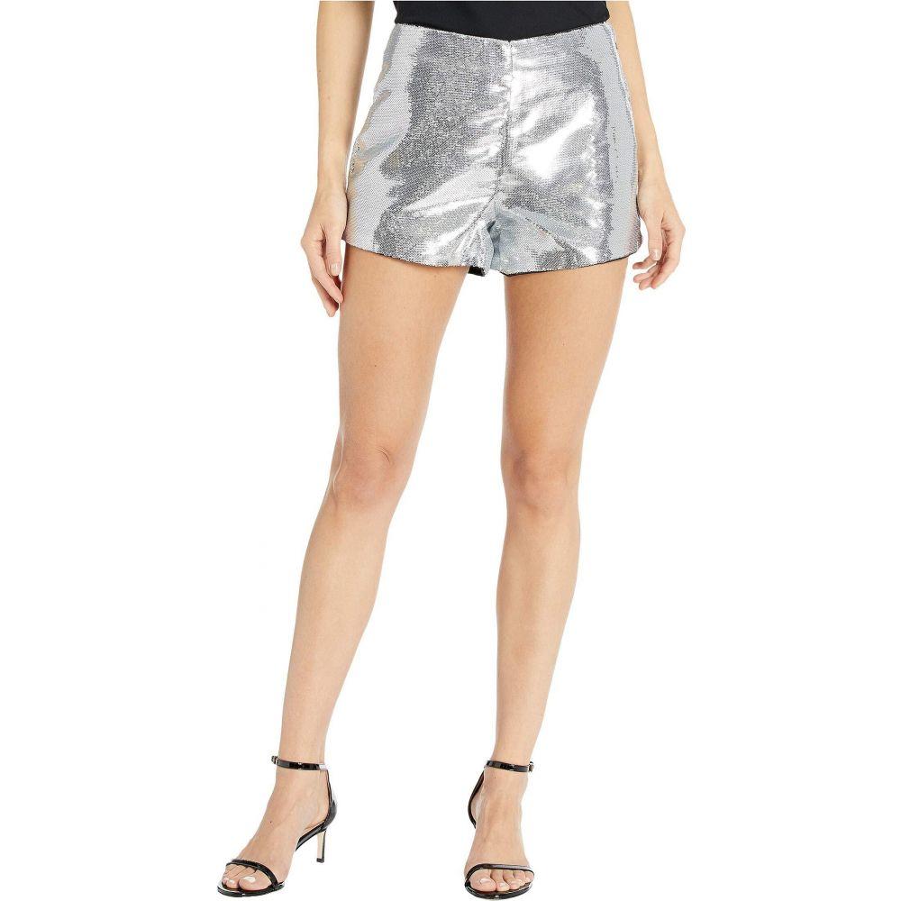 ブランクニューヨーク Blank NYC レディース ショートパンツ ボトムス・パンツ【Sequin Shorts in Astrology】Silver