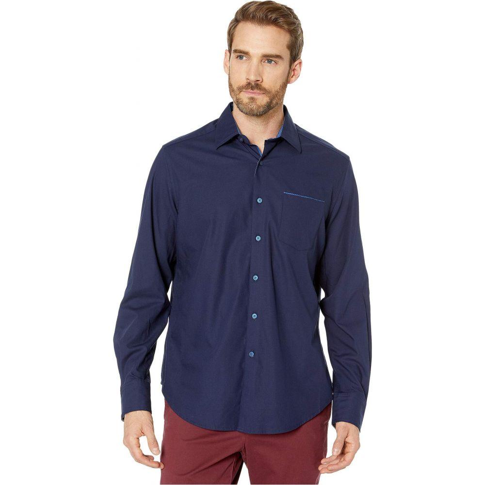 ロバートグラハム Robert Graham メンズ シャツ トップス【Mansfield Stretch Sport Shirt】Navy