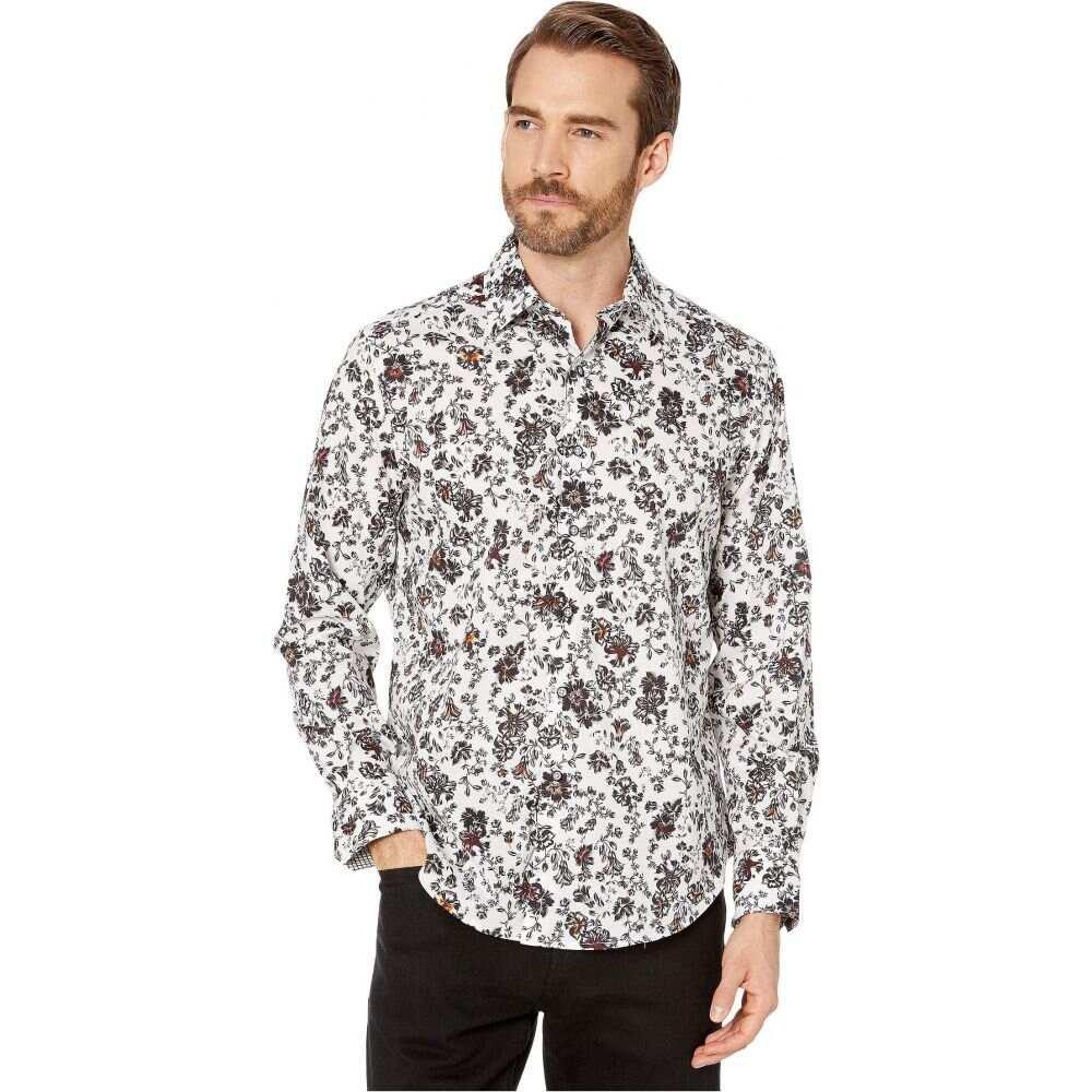 ロバートグラハム Robert Graham メンズ シャツ トップス【Grey Gardens Classic Fit Sport Shirt】White