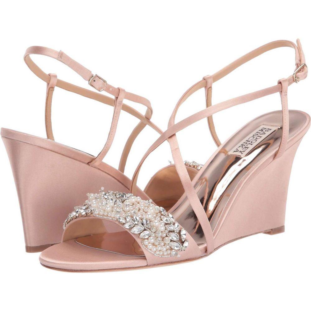 バッジェリー ミシュカ Badgley Mischka レディース サンダル・ミュール シューズ・靴【Clarisa】Soft Blush