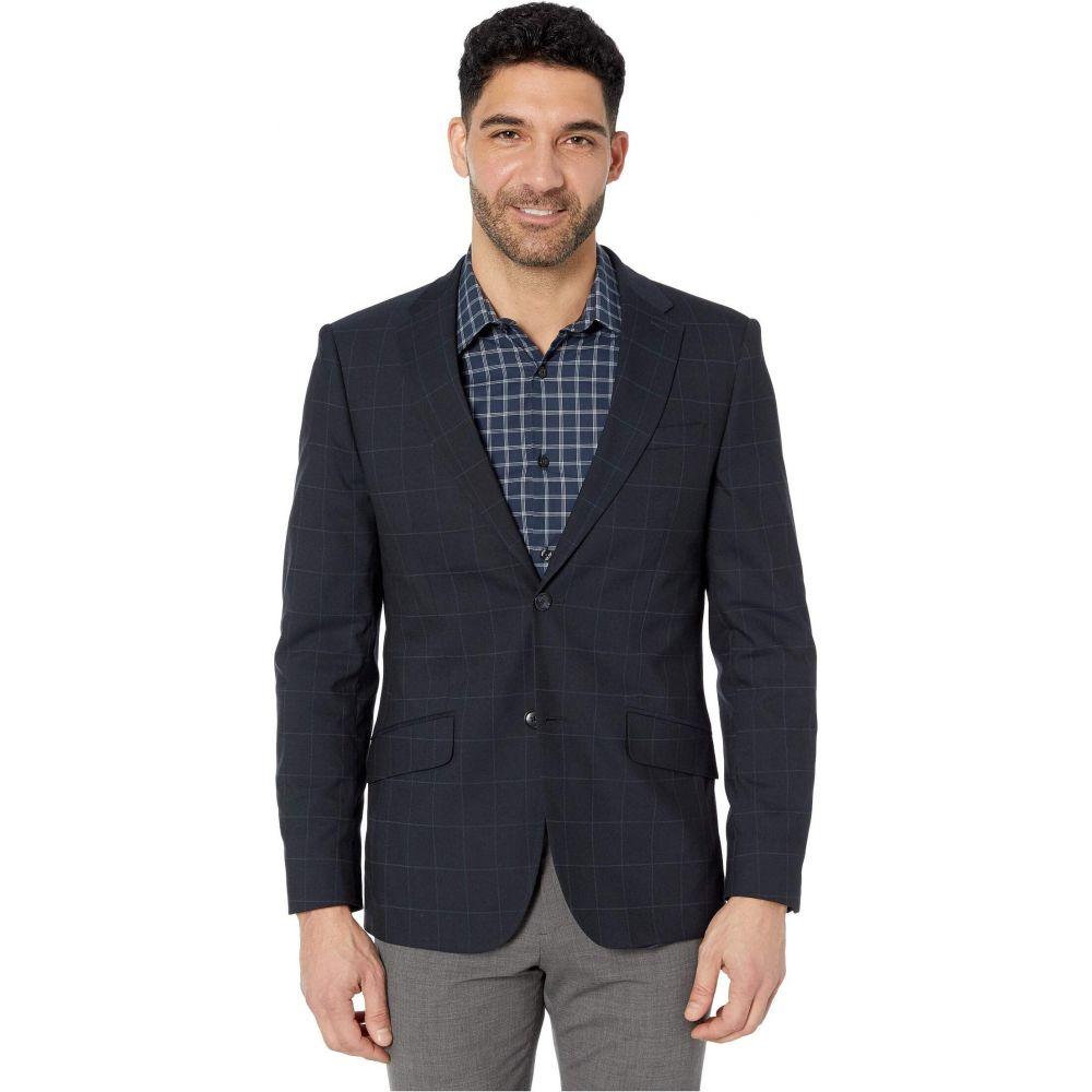 ペリー エリス Perry Ellis メンズ スーツ・ジャケット アウター【Slim Fit Machine Washable Suit Jacket】Dark Sapphire