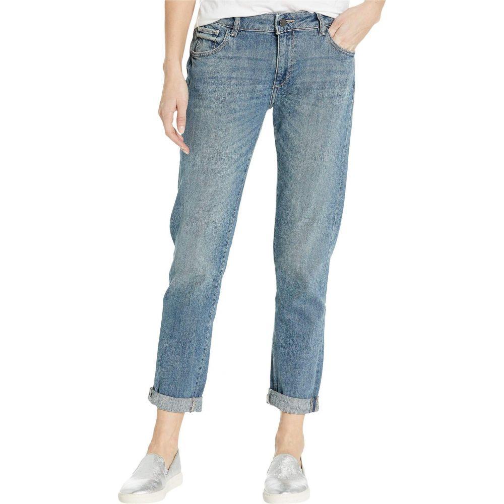 ディーエル1961 DL1961 レディース ジーンズ・デニム ボーイフレンドデニム ボトムス・パンツ【Riley Mid-Rise Boyfriend Jeans in Lagos】Lagos