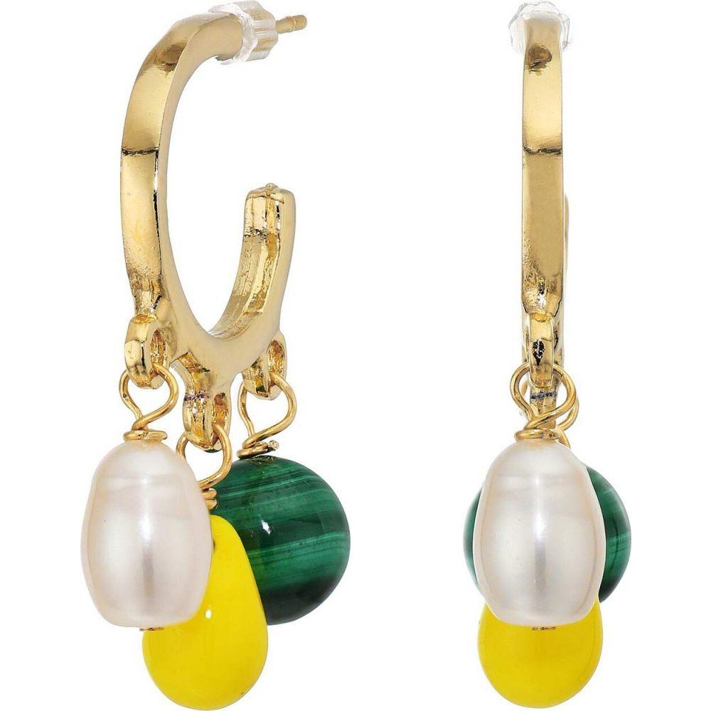 シャシ SHASHI レディース イヤリング・ピアス ジュエリー・アクセサリー【Elizabeth Huggie Earrings】Gold