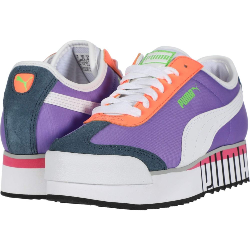 プーマ PUMA レディース スニーカー シューズ・靴【Roma Amor Logo】Luminous Purple/Puma White/Dark Denim