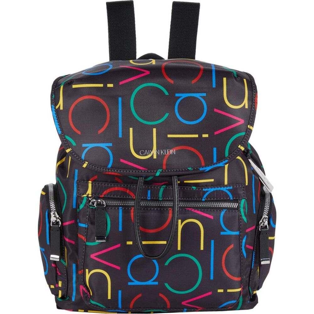 カルバンクライン Calvin Klein レディース バックパック・リュック バッグ【Kimberly Tiny Twill Nylon Backpack】Multi CK Logo