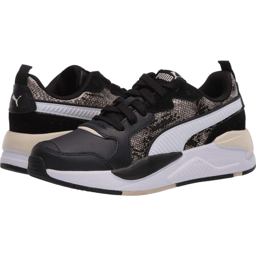 プーマ PUMA レディース スニーカー シューズ・靴【X-Ray Reptile】Puma Black/Puma White/Tapioca