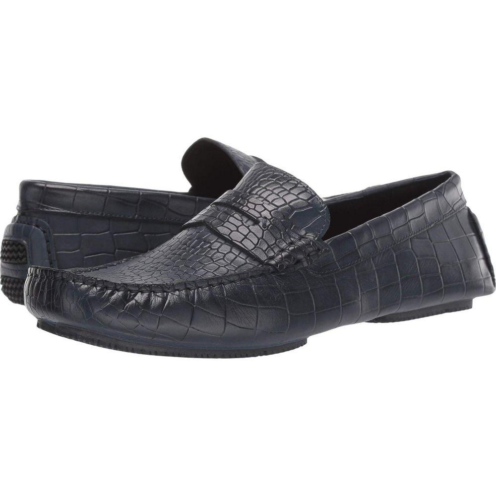 ドナルド プリナー Donald Pliner メンズ ローファー シューズ・靴【Veeto 2】Navy