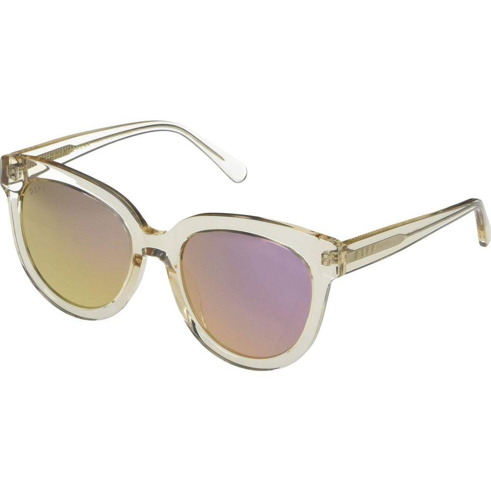 ディフアイウェア DIFF Eyewear レディース メガネ・サングラス 【April】Blush Taupe/Taupe
