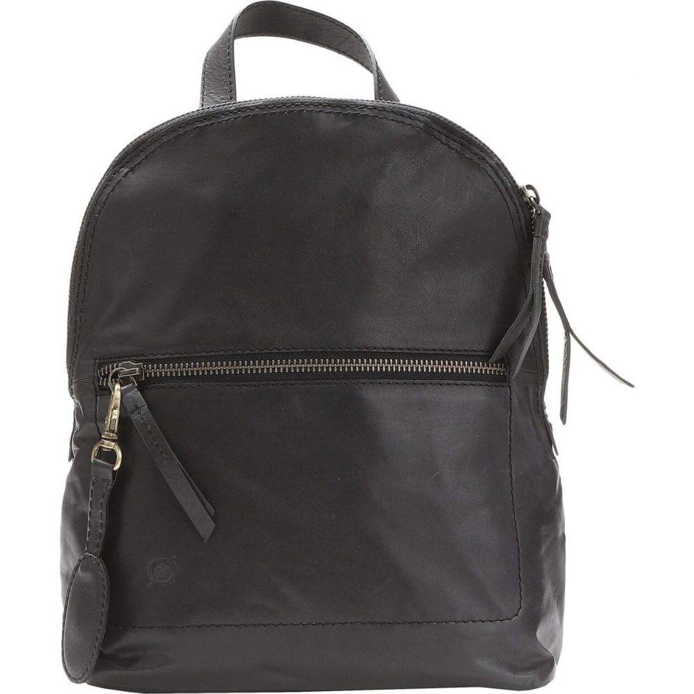 ボーン Born レディース バックパック・リュック バッグ【Cinnabar Leather Backpack】Black